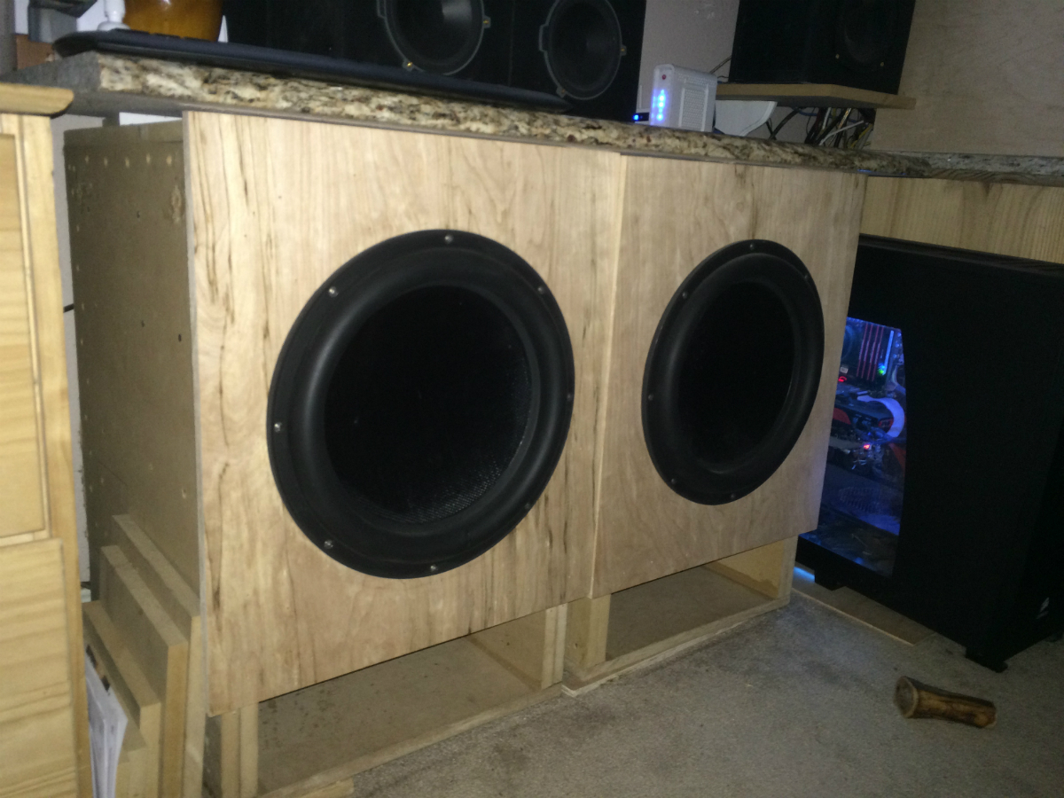 Dual 15 Quot Dayton Ultimax Build Page 2 Home Theater
