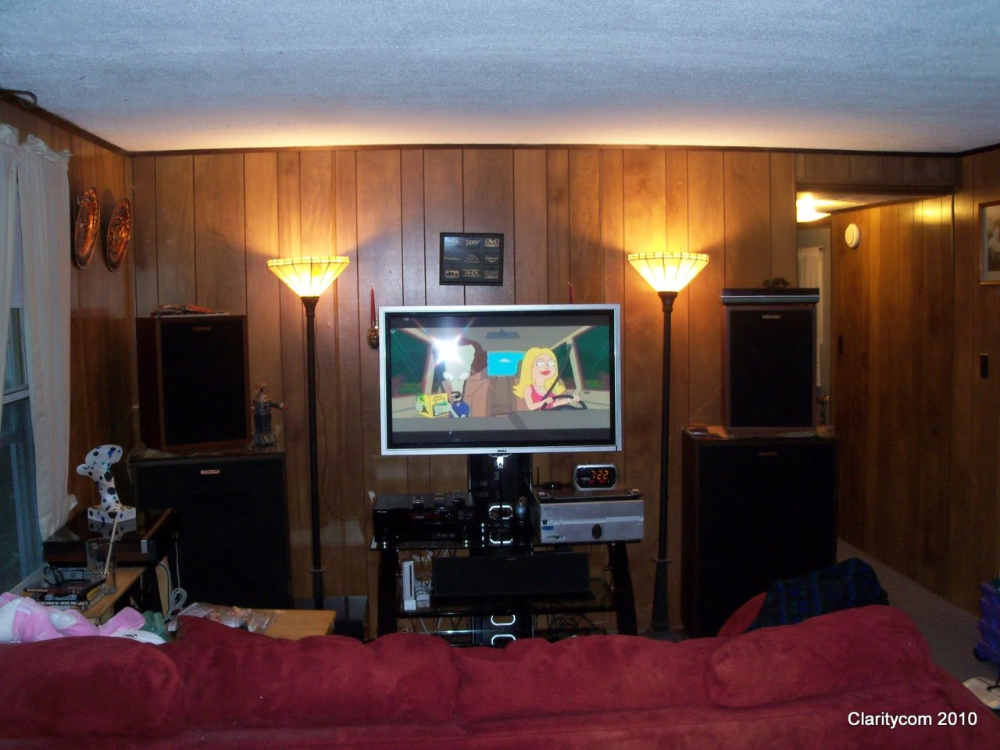 Klipsch Heritage small room theater. - Home Theater Forum ...