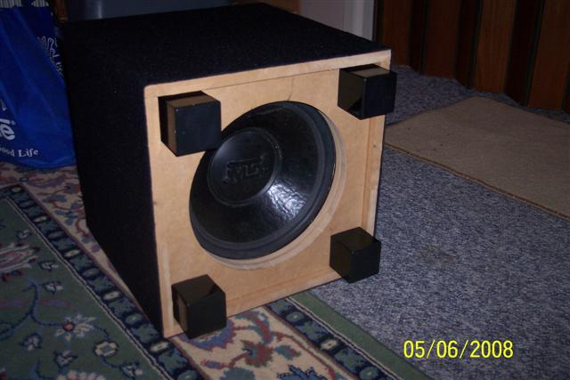 Sealed subwoofer home theater