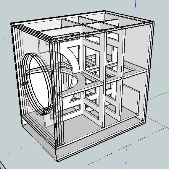 home subwoofer box design 2