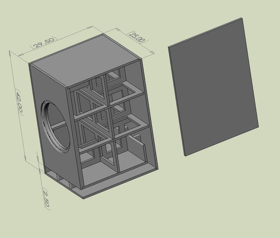 Car audio speakers: Free subwoofer box plans