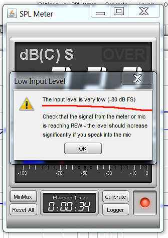Name:  17.SPL meter calibration_Asio 48kHz_RadioShack 33-2055_level at listening point_low level messag.jpg Views: 217 Size:  64.6 KB