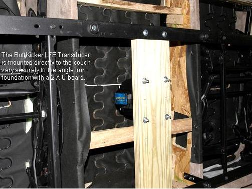My Buttkicker Install And Review Home Theater Forum And