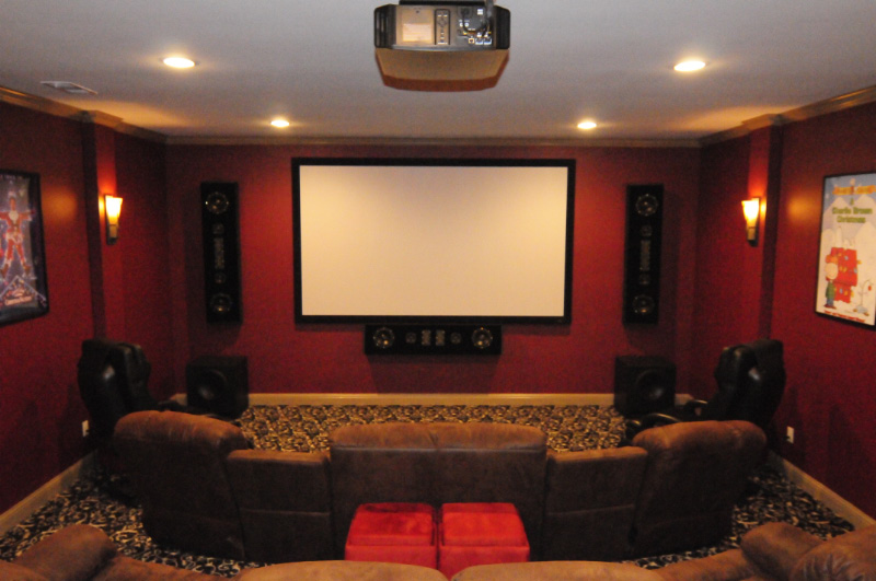 home theater room ideas diy wonderful of media - Diy Home Theater Design