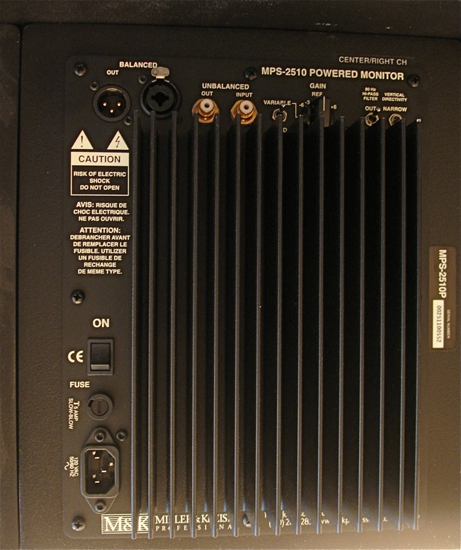 M&K MPS2510P Complete 5.1 Channel Powered System-2510back.jpg