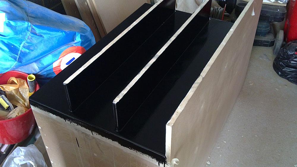 2 x 15 cu ft FIQ18 multi tuned ported subs-2nd-coat-4.jpg