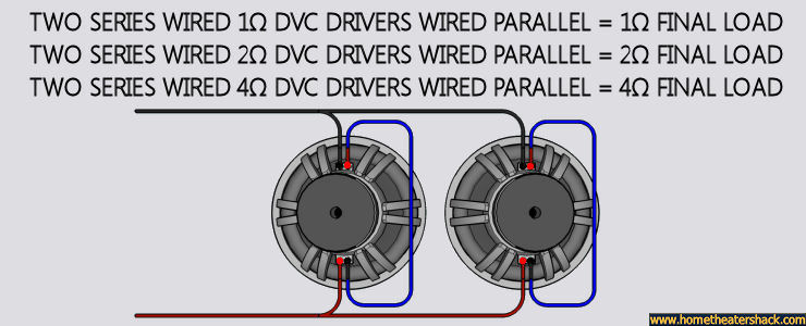 single dvc 4 ohm wiring car stereos amp and subwoofer wiring 4 ohm dvc sub or 2ohm dvc sub