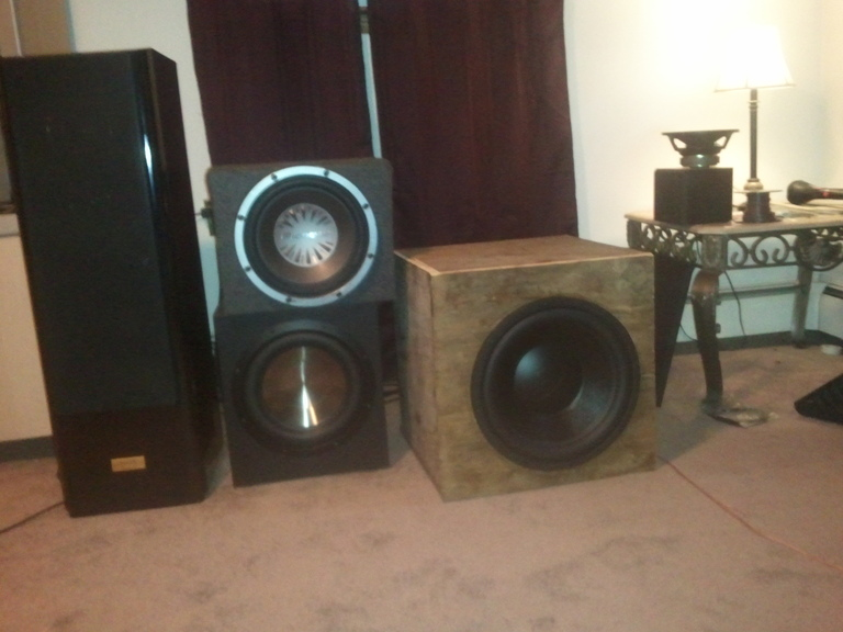 30 Inch Speakers And 30 Inch Rims : Inch cube titanic mkiii home theater forum and