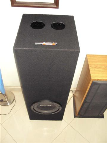 how to make home theater subwoofer box