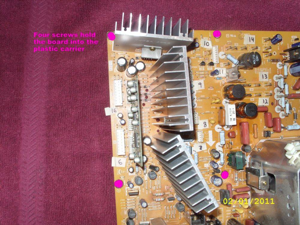Steve's PT-53WX53G Project-32-circuit-board-mounting-screw-locations.jpg