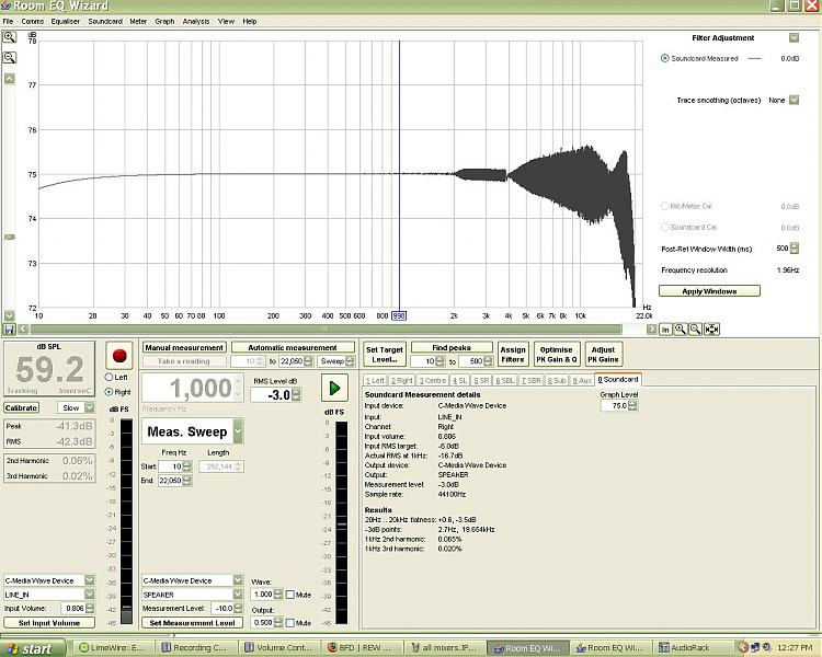 Wierd results when measuring soundcard response, need new S/Card??-44100.jpg