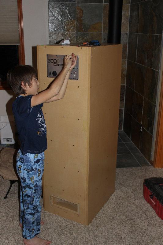 "First build - 15"" Dayton HF-amp_install.jpg"