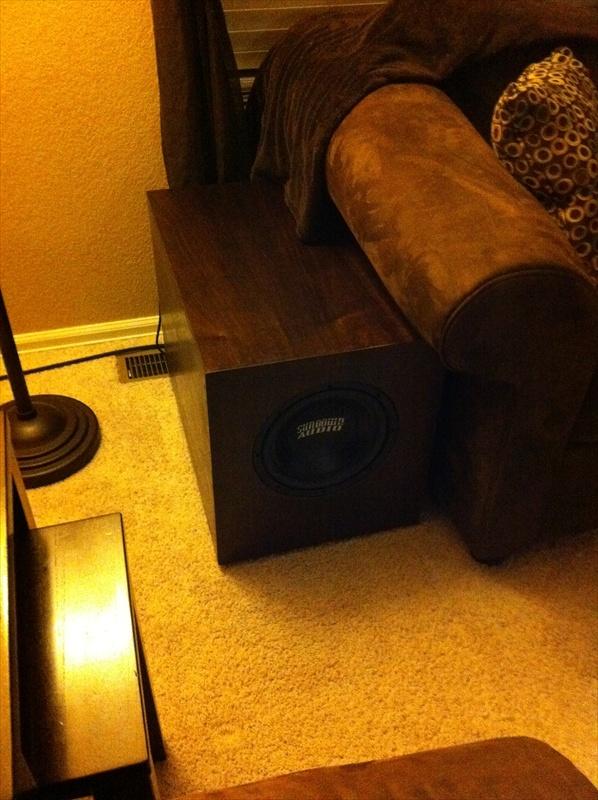 """Sundown Audio SD-1 v.2 10"""" Subwoofer Build-home-front.jpg"""