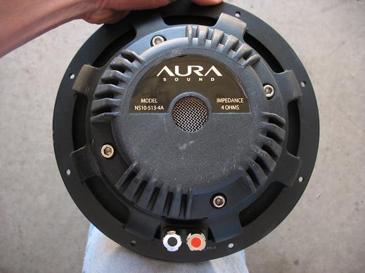 """10"""" Aurasound Sonotube-aurarear.jpg"""