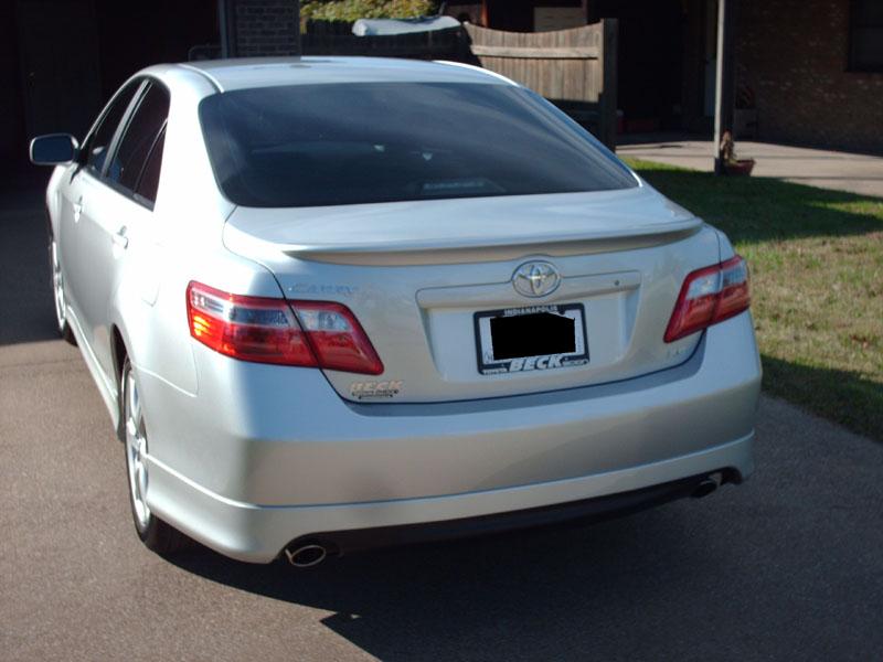 2008 Toyota Camry SE V6-back1.jpg