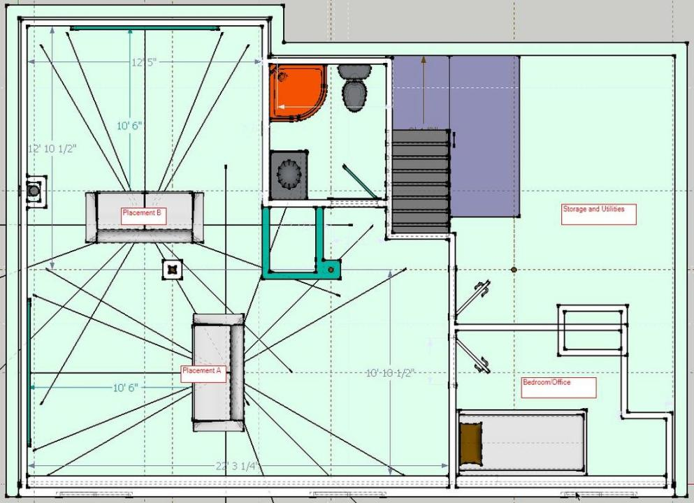 Help Needed: Small Multipurpose Basement Plan - Home Theater Forum