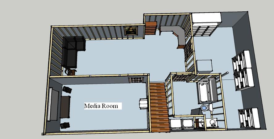 Small Theater Acoustics Design Basement1 Jpg