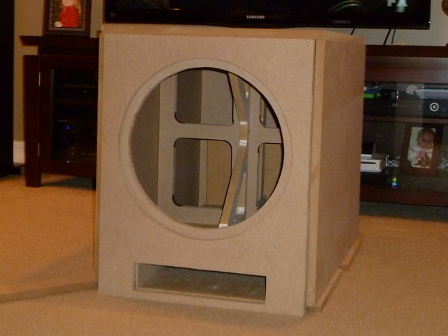 Epik 15 Quot Diy Ported Subwoofer Home Theater Forum And