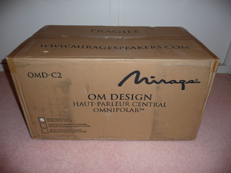 Mirage C2 Reference Center Channel...Mint Condition...-c2-1.jpg