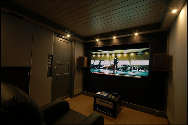 project c8 building norways smallest home cinema home theater forum and systems. Black Bedroom Furniture Sets. Home Design Ideas