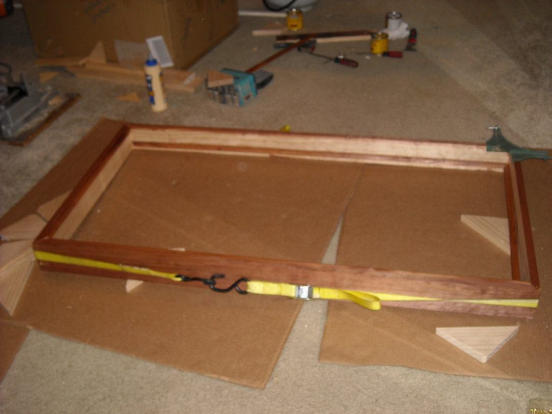 A journey of a thousand miles begins with the first step-clamped_n_stained.jpg