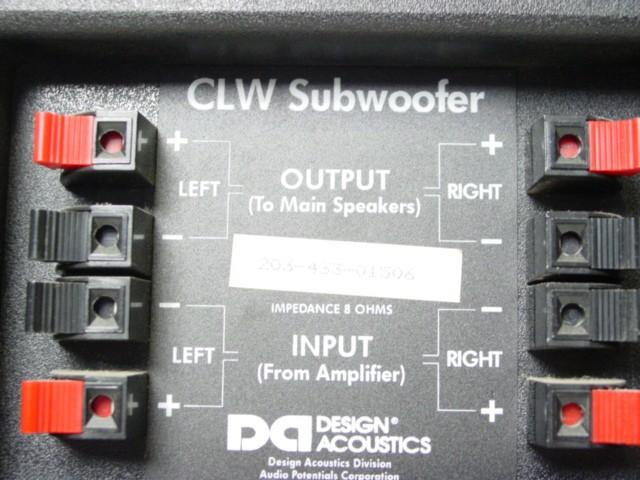 passive subwoofer connection home theater forum and systems passive subwoofer connection clw jpg