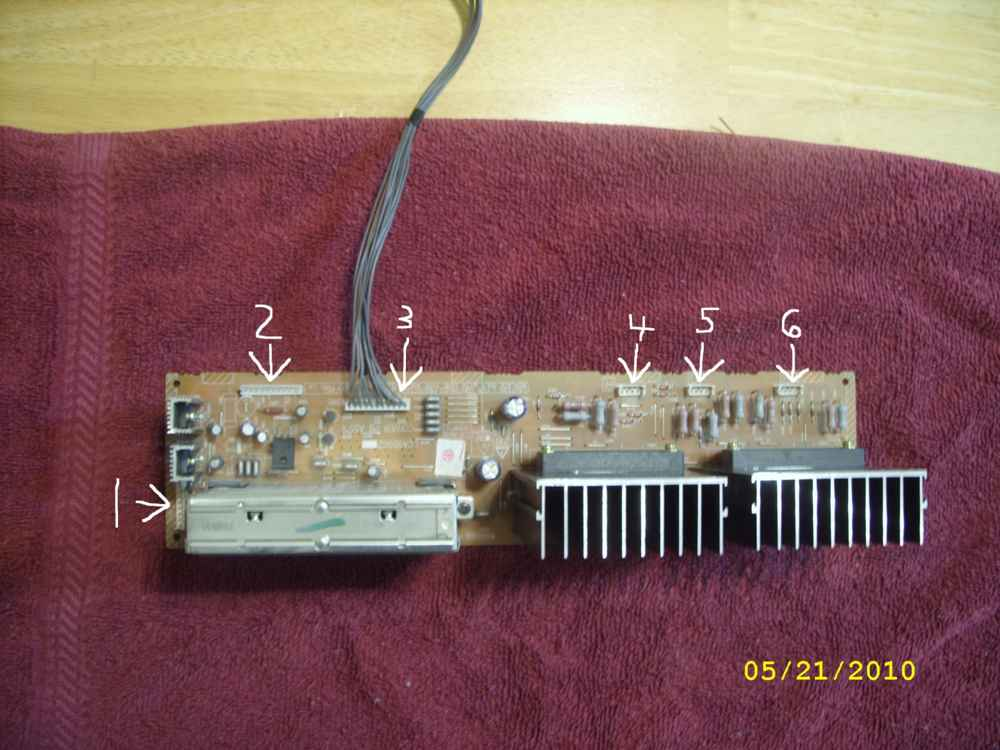 Steve's AV56WP74 Convergence Repair - with Pics-convergence-board-removed-small.jpg