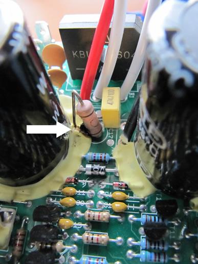 Energy amp smoking, please help me fix-cooked-resistor.jpg