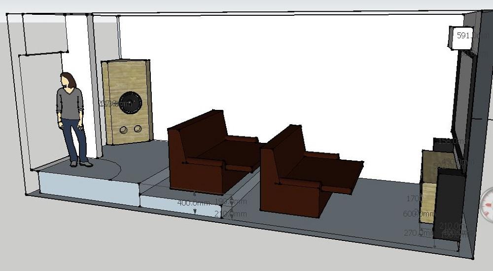 "Stereo Integrity HT 18"" Alfa-74 project-corner-type-box-room.jpg"