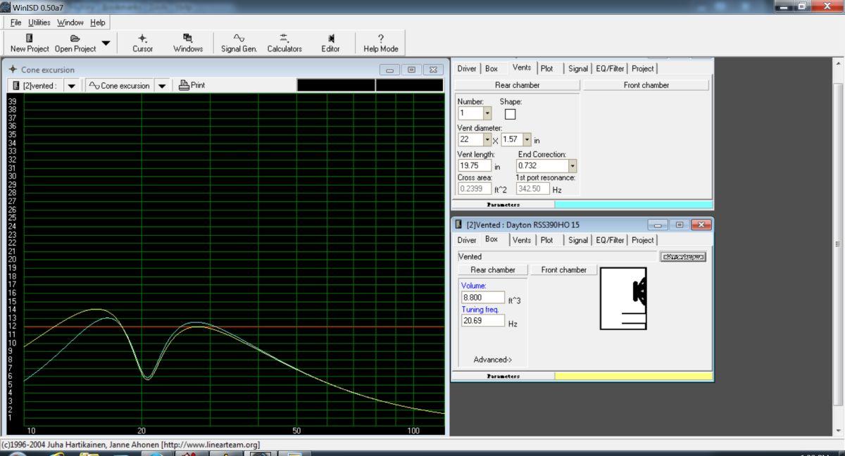 Need help with port length / size based on my enclosure-dayton-rs390ho-8.8-cu-box.jpg