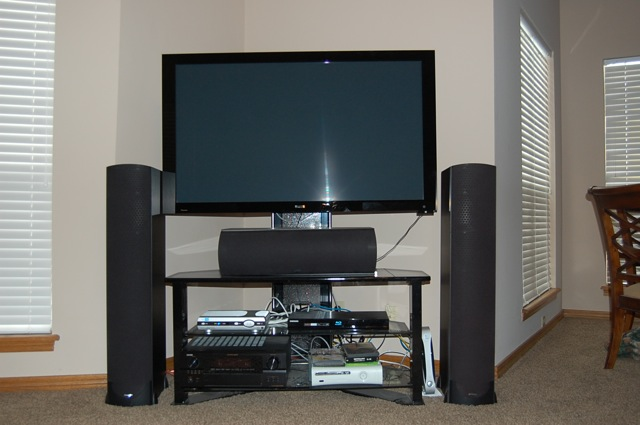 living room tv setup my living room setup home theater forum and systems 15847