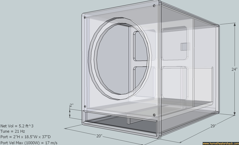 Home Theater Subwoofer Box Plans Home Free Engine Image