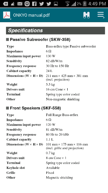 crossover setting - Home Theater Forum and Systems