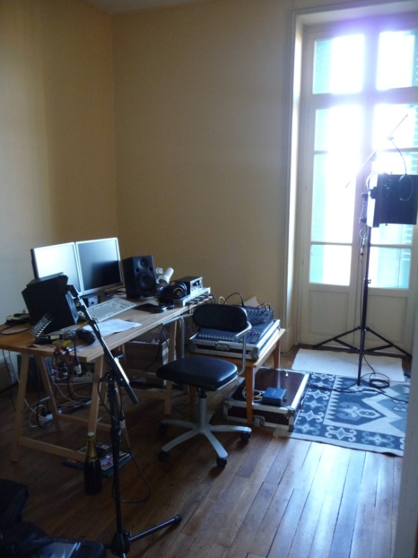 Another Small Home Studio Control Room Home Theater