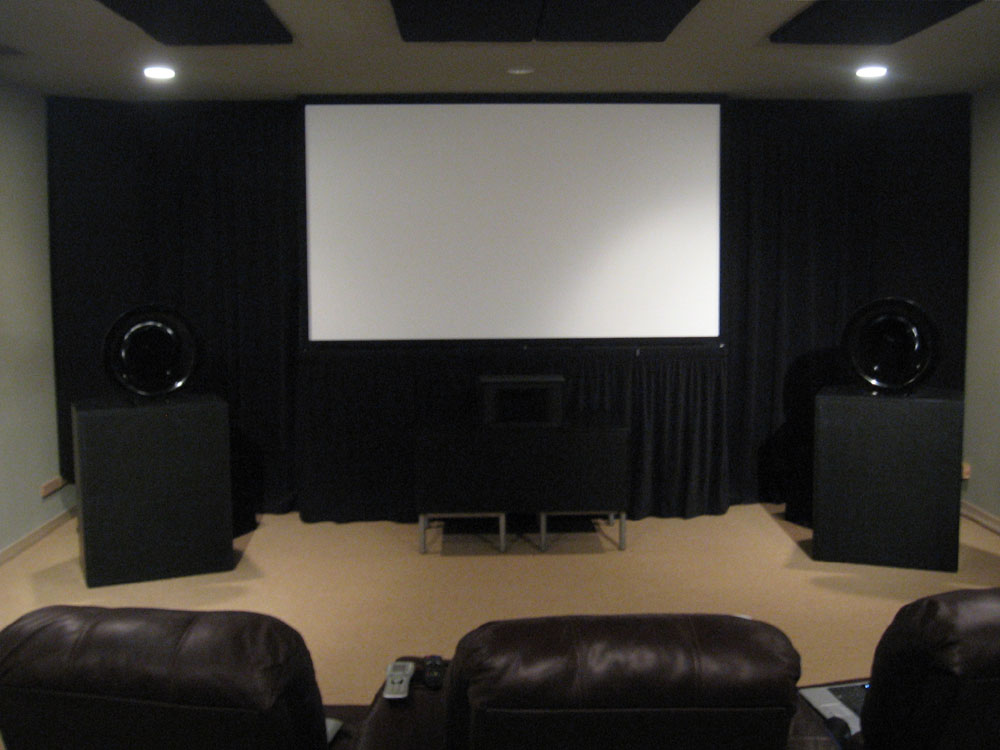 Latest version of my DIY HT. - Home Theater Forum and ...