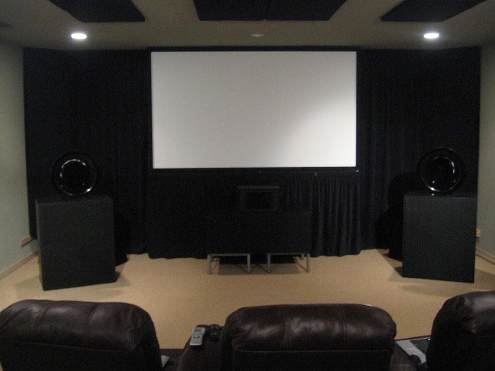 Home cinema diy