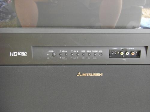 mitsubishi hd 1080 please help with hd conversion home theater rh hometheatershack com mitsubishi hd 1080 series big screen tv manual Mitsubishi HD 1080 Projection TV