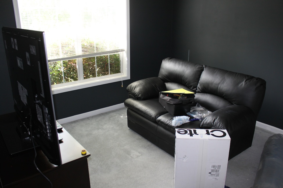 Bedroom home theater