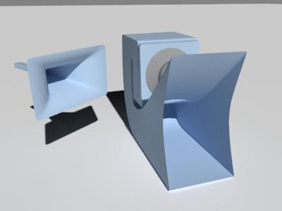Name:  Horn and Folded Horn.jpg