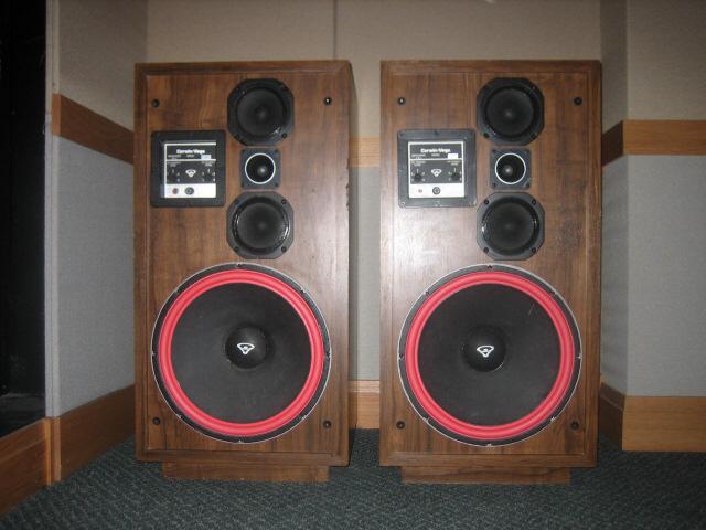 Cerwin Vega speakers.-image-1097296929.jpg
