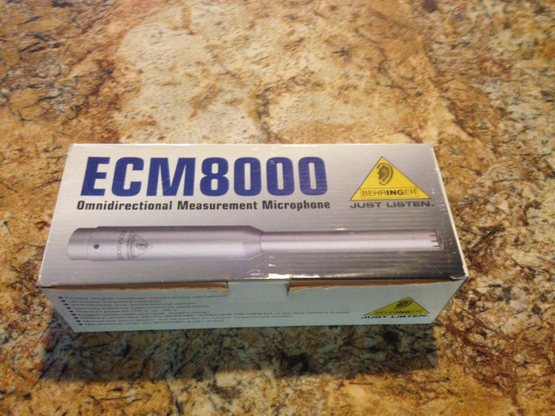 FS: ECM8000 Measurement Mic-image-1424205008.jpg