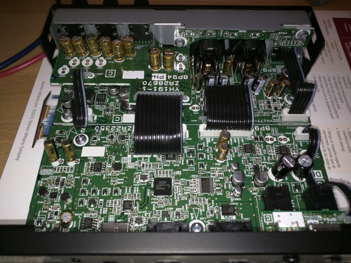 USB audio interface (sound card) comparison:  M-Audio, PreSonus and Steinberg-inside-ur22mkii.jpg