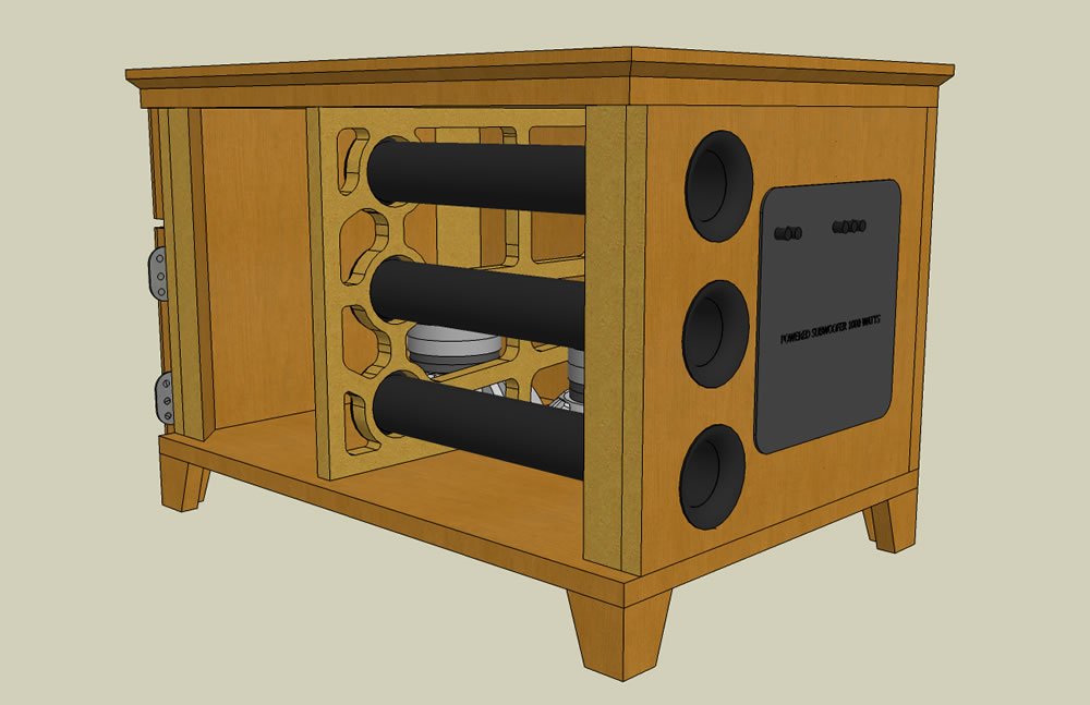 UPDATED (w/pics)  Dual RE SE-12 End table sub build...-iso_pic3.jpg