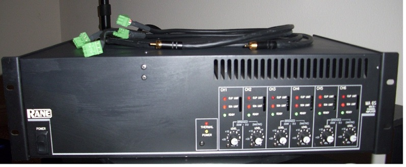 Rane MA6s 6 Channel Amp with RCA-Euroblock Cables-ma6s.jpg