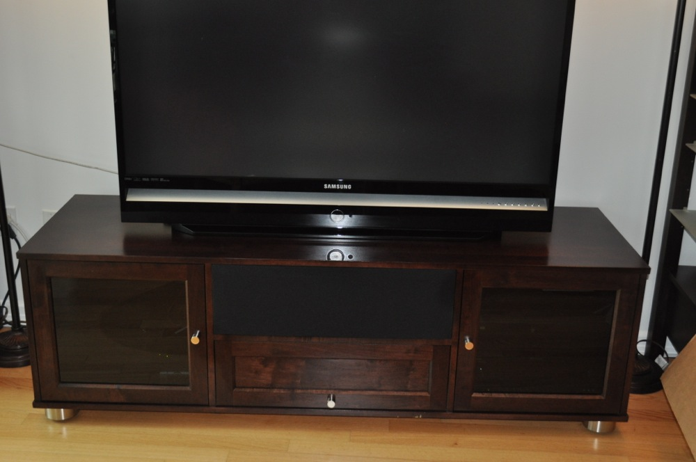 fs standout designs majestic solid wood media console home