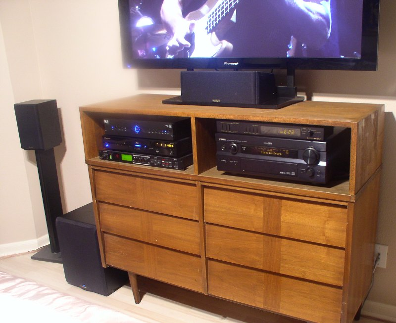 Our Bedroom Theater System Home Theater Forum And
