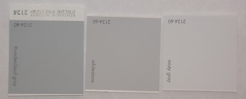 Paint chips for Cream&Sugar, Scorpio, and other grays ...
