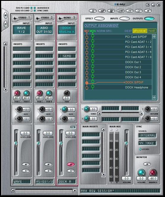 REW's Internal SPL Meter - not calibrated when I use a different test tone-patchmix-set-up-emu-1820m-soundcard-calibration-rew.jpg