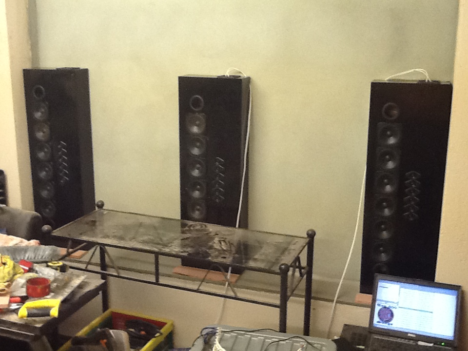 In Wall Home Theater Speakers in wall speakers / baffle wall - home theater forum and systems