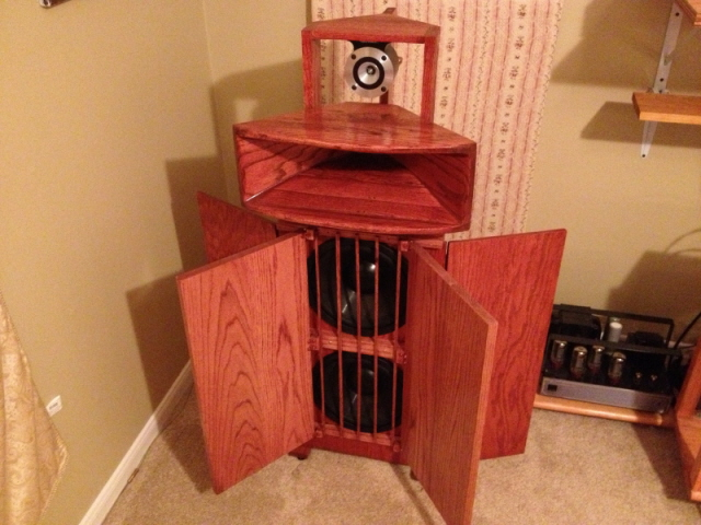Lets see so photos of your open baffle speakers you've built - Page